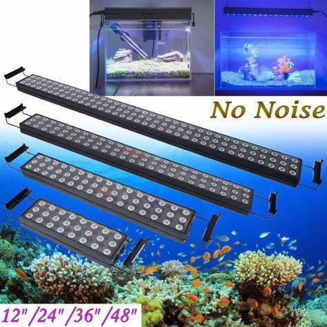 12 24 36 48 Led Aquarium Fish Tank Light Bar Full Spectrum Lamp Marine Plant Aquarium Fish Tank Fish Tank Lights Aquarium Fish