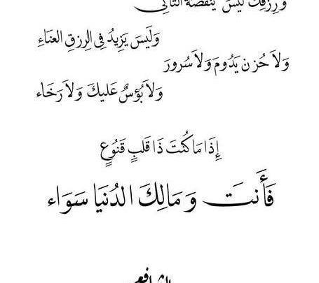 حالات واتس اب شعر متنوع بين الحب والفراق والحكم Arabic Calligraphy