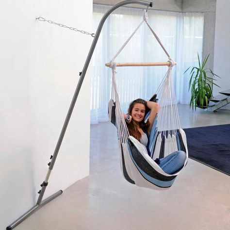 Pin By Joanne Lemay On Hamac Support Hammock Chair Stand Hanging Chair Hammock Chair