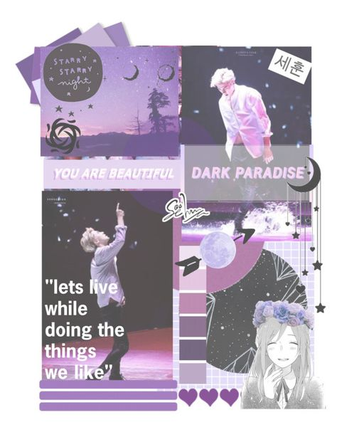 """""""~Just like the stars~Sehun~Round One~BOTBT"""" by linetteaveryharper ❤ liked on Polyvore featuring art and BOFTBT"""