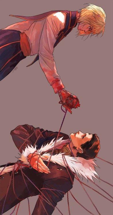 Kurapika and Chrollo ~Hunter X Hunter - Anime Killua, Hisoka, Hunter X Hunter, Hunter Anime, Monster Hunter, Manga Anime, Anime Guys, Manga Girl, Cool Animes