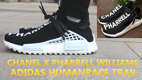 14089c4e2 Chanel X Pharrell Williams X Adidas NMD