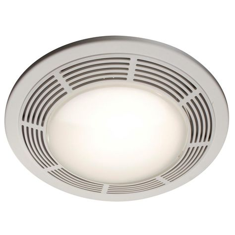 Broan 100 Cfm Ceiling Bathroom Exhaust Fan With Light And Night