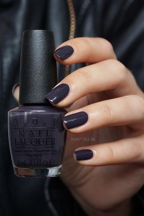 23 Super Ideen für Nägel Dark Opi Color #darknails#color #dark #darknails #für #ideen #nägel #opi #super