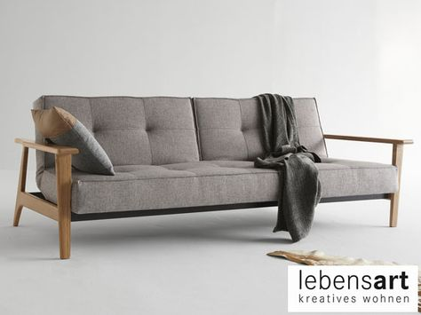 Innovation Schlafsofa Splitback Lebensart Design Mobelhaus Berlin