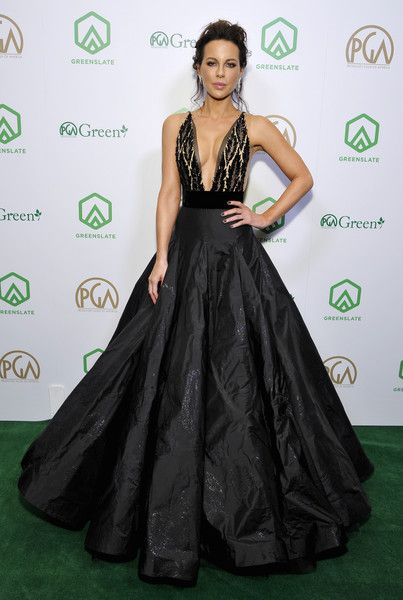 Actress Kate Beckinsale attends the 30th Annual Producers Guild Awards proudly supported by GreenSlate at The Beverly Hilton Hotel.