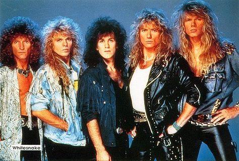 Whitesnake Rock Dos Anos 80 Hard Rock Melhores Bandas De Rock