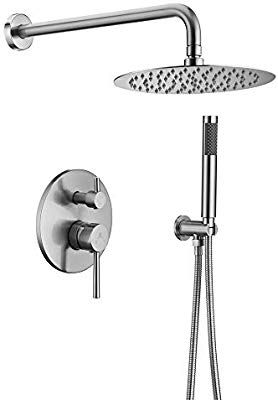Homelody Shower System Wall Mounted Shower Faucet Set For