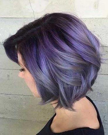 Unique Hair Color Ideas For Bob Haircut Color Haircut Ideas Unique Hair Hairstyles Haircare Haircolor H Hair Color Unique Lavender Hair Hair Styles