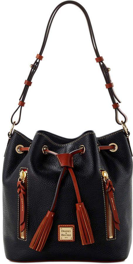 Dooney Bourke Leather Drawstring Bags