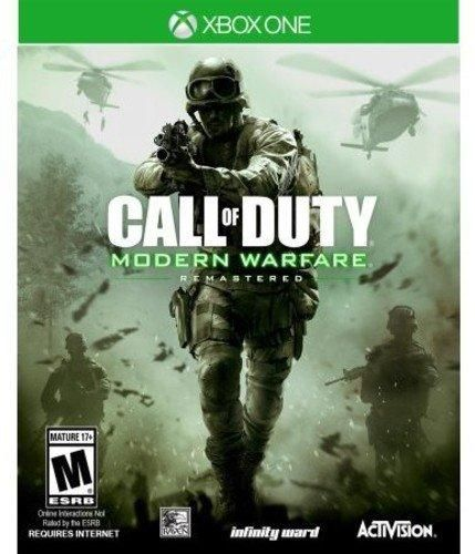Call Of Duty Modern Warfare Remastered Xbox One Call Of Duty Modern Warfare Ps4 Games