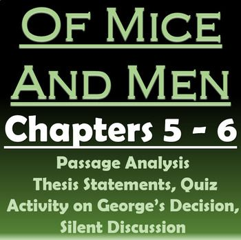 of mice and men chapter 2 analysis