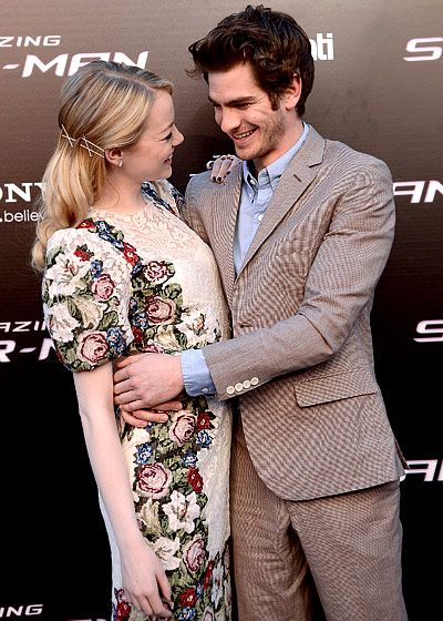 Emma And Andrew S Pda With Images Celebrity Couples Celebrities Emma Stone