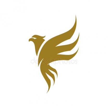 Eagle Logo Design Vector Sport Eagle Logo Template Stock Vector