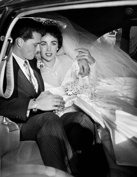 Elizabeth Taylor and Conrad