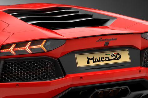 ランボルギーニ アヴェンタドール・ミウラ・オマージュ Lamborghini Aventador Miura Homage