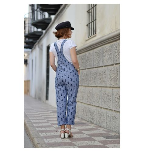 Turia dungarees | Jeans | Pinterest | Nähen, Kleid nähen og ...