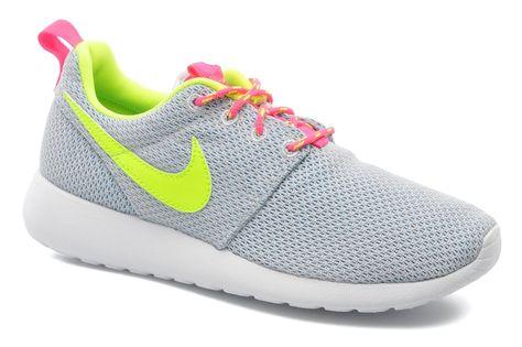 newest 93ea6 b240b Nike Nike Rosherun (Gs) (Gris) - Baskets chez Sarenza (219253)