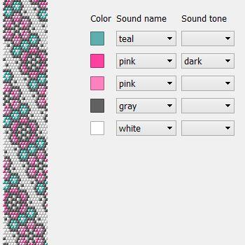 Turtle Free Crochet Bead Bracelet Necklace Pattern For Chudibeads