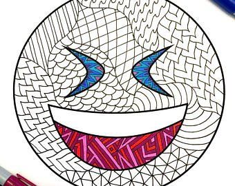 Emoji Coloring Pages Kiss