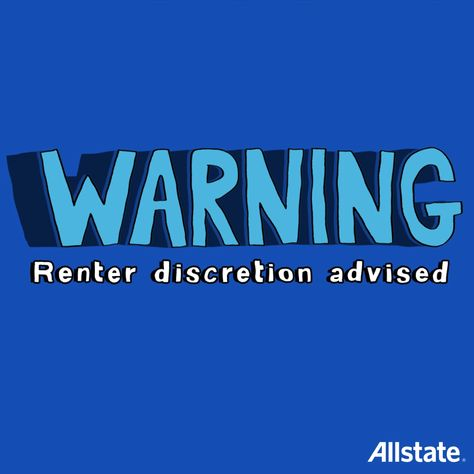 Fun Fact: Allstate Renters Insurance can protect your stuff from theft and damage inside AND outside your apartment. criando video animados para marketing