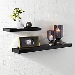 Calvin Matte Black Floating Shelves Black Floating Shelves Floating Shelves Modern Floating Shelves