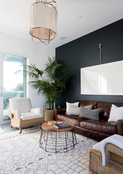 Create Contrasts - Pierce Brown's Bachelor Pad Brings The Drama To A Cali Cool Space - Photos