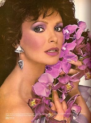 1983 Max Factor Cosmetics Jaclyn Smith Print Ad Advertisement Vintage VTG 80s