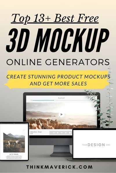 13 Best Free Online Tools To Create 3d Mockups In Seconds No Photoshop Needed Thinkmaverick My Personal Journey Through Entrepreneurship Free Online Tools Online Tools Create Business Cards