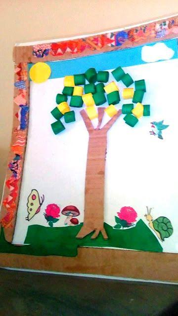 Ce Que J Ai Appris De La Vie Un Citronnier En Papier شجرة ليمون من ورق Home Decor Frame
