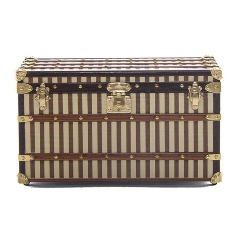 5f4de76cf21 Authentic louis vuitton 1888 malle Courrier Trunk The mini Courrier trunk  is a faithful 1 7th replica of a trunk from 1888 and sheathed in  beige-and-brown ...