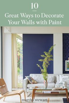 10 Amazing Ways to Decorate Your Walls with Paint   Home wall painting, Paint colors for living room, Dining room paint