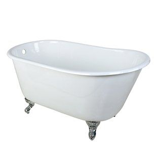 Woodbridge 54 X 29 Freestanding Soaking Bathtub Small Tub
