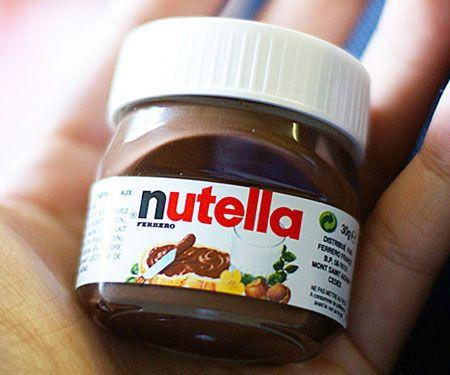 Mini Single Serve Nutella Awesome Stuff 365 Mini Nutella Nutella Nutella Jar