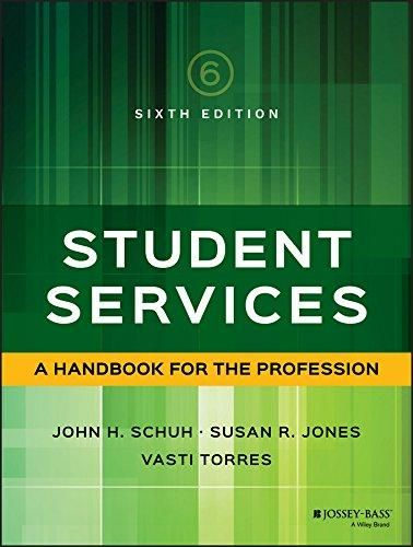 Student Services: A Handbook for the Profession (Jossey Bass Higher and Adult Education) - Default