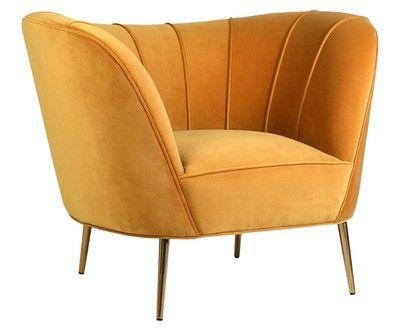 Samt Sessel Flynn Polsterstuhl Moderne Sessel Beistellstuhl