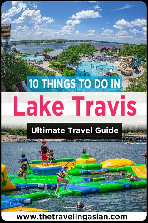 One of the best lakes to visit in the city of Austin is one called Lake Travis. Here are all the best things to do in Lake Travis. #Austin #Texas #USA #Travel #Wanderlust #Blog #Travelblog #LakeTravis #Lake