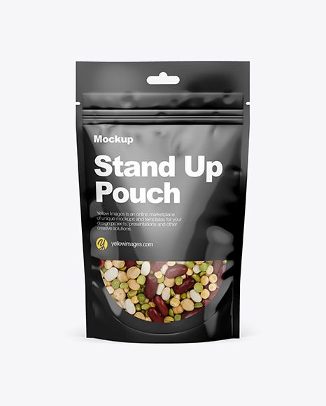 Download Stand Up Pouch Mockup Front View In Bag Sack Mockups On Yellow Images Object Mockups Mockup Free Psd Free Mockup Mockup PSD Mockup Templates