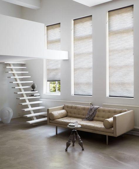 raamdecoratie smalle hoge ramen - Google zoeken