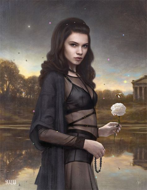 APHRODISIAC ART           - tombagshaw:   'End of Summer' - My piece for the...