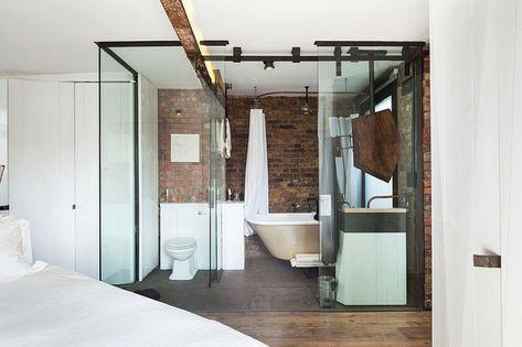 bel immobilier de luxe au cœur de soho | salle de bain originale ... - Salle De Bain Integree