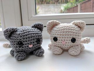 Crochet Cat | Crochet cat pattern, Halloween crochet, Crochet cat | 240x320