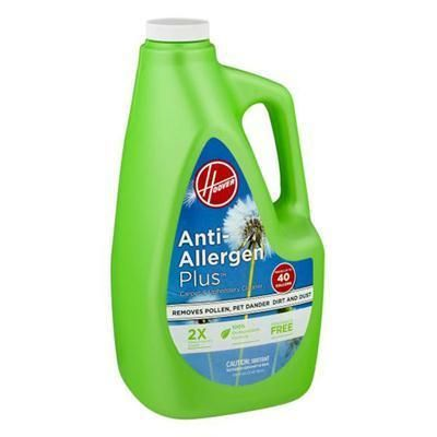 Hoover Anti Allergen Plus Cleaning Solution Cleaning Upholstery