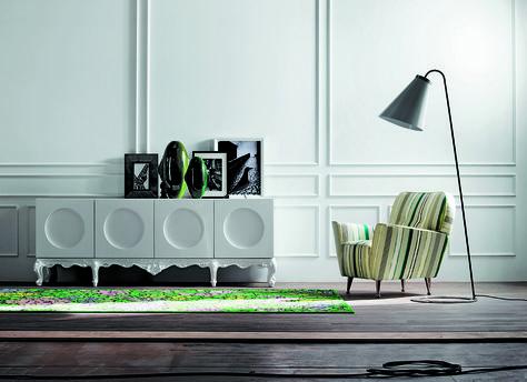Buffet moderne blanc meubles de luxe maruca s
