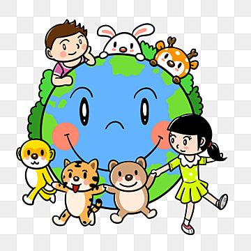 Cartoon Planet Earth Day Earth Day Cartoon Cartoon Earth ว นค มครองโลก การ ต น ว นค มครองโลกภาพ Png และ Psd สำหร บดาวน โหลดฟร พ นหล ง