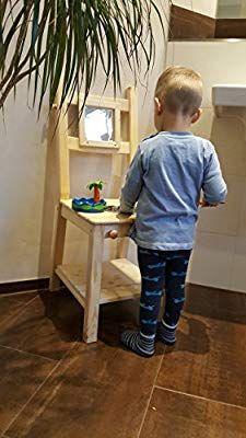 Chaise-lavabo pour enfant tour d/'apprentissage Montessori