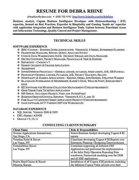Accounts Payable Supervisor Resume Accounting Resume Samples - business intelligence resume