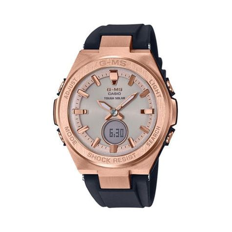 38mm Ladies' Casio Baby G G MS Watch with Rose Gold Tone