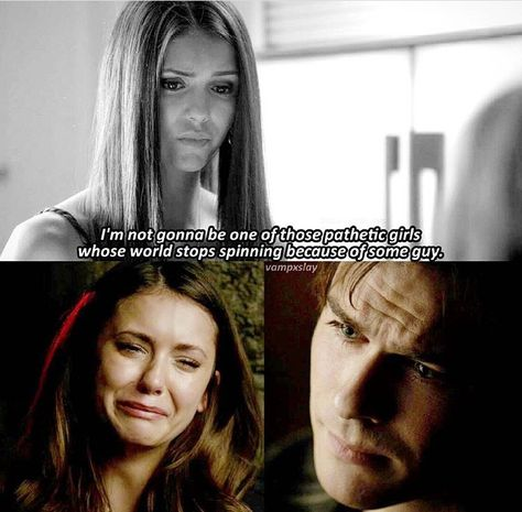 #TVD The Vampire Diaries Elena & Damon, I think I already pinned this before but oh well?