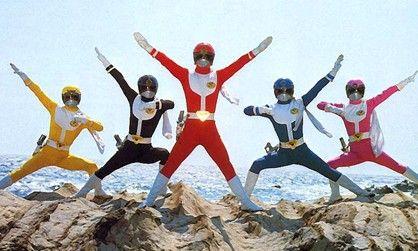 Pin Em Super Sentai